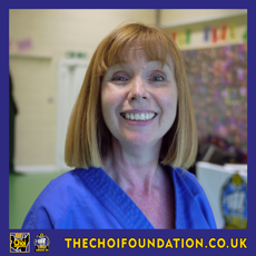 Carol Bullock. Assistant Instructor, The Choi Foundation, Brighton, Martial Arts and Self-defence