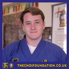Lucien Ruffell. Assistant Instructor, The Choi Foundation, Brighton, Martial Arts and Self-defence