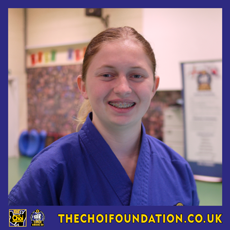 Maud Ous, Assistant Instructor, The Choi Foundation, Brighton, Martial Arts and Self-defence