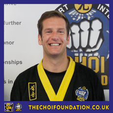 Robert Tanswell, Chief Head Instructor, The Choi Foundation, Brighton, Martial Arts and Self-defence
