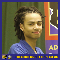 Sky Robinson. Assistant Instructor, The Choi Foundation, Brighton, Martial Arts and Self-defence
