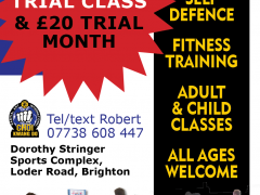 Fitness classes for all at Brighton Martial Arts and Self-defence classes, The Choi Foundation, Robert Tanswell