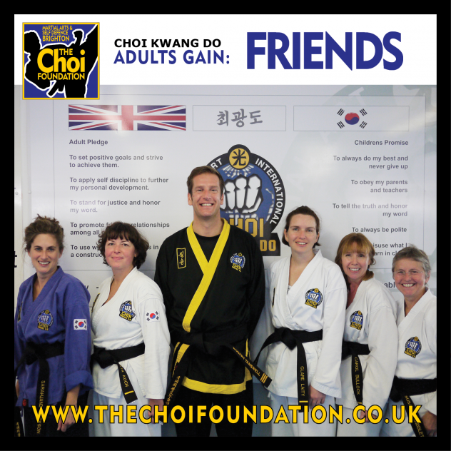 Keep fit Brighton Marital Arts and Self-defence classes, The Choi Foundation, Robert Tanswell