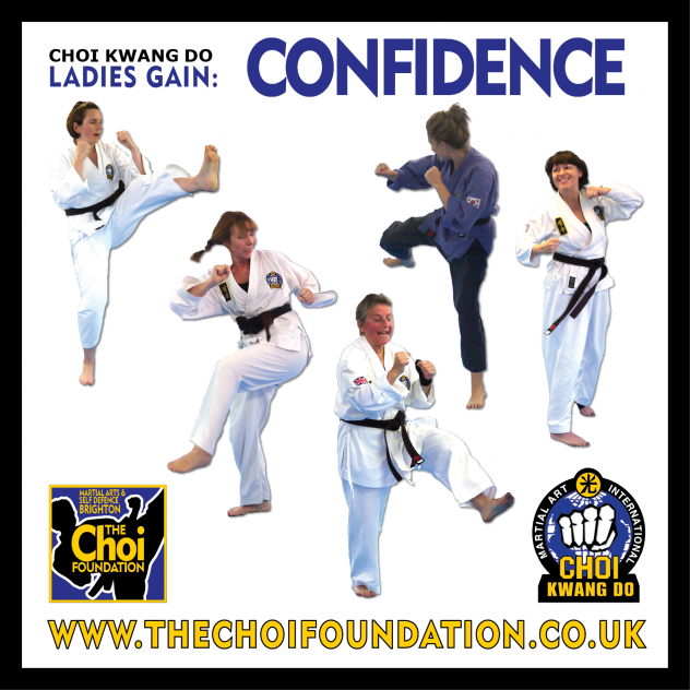 Ladies of all ages at Martial Arts and Self Defence Classes in Brighton at The Choi Foundation