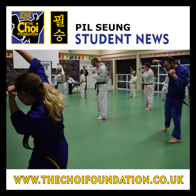 Brighton Marital Arts and Self-defence classes, The Choi Foundation, Robert Tanswell