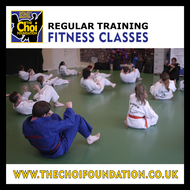 Regular keep fit classes, Martial Art and Self-defence in Brighton at The Choi Foundation