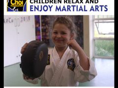 Children relax, make friends, learn and enjoy Martial Arts and Self-defence in Brighton at The Choi Foundation
