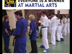 Everyone is a winner at Brighton Martial Arts and Self-defence classes, The Choi Foundation, Robert Tanswell
