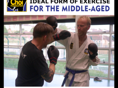 Martial Arts is an ideal form of exercise at Brighton Marital Arts and Self-defence classes, The Choi Foundation, Robert Tanswell