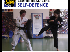 Learn real-life, practical self-defence fitness at Brighton Martial Arts and Self-defence classes, The Choi Foundation, Robert Tanswell