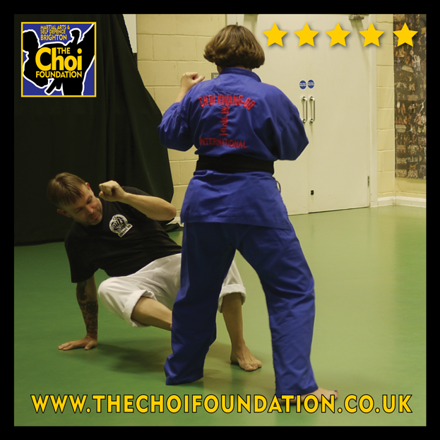 Exercise evening classes for all ages. Brighton Marital Arts and Self-defence classes, The Choi Foundation, Robert Tanswell