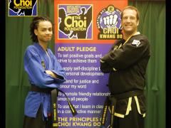 EE Dan Black Belt grading at The Choi Foundation Martial Arts classes, Brighton
