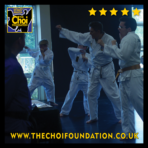 Brighton Martial Arts and Self-defence fitness classes, The Choi Foundation, Robert Tanswell